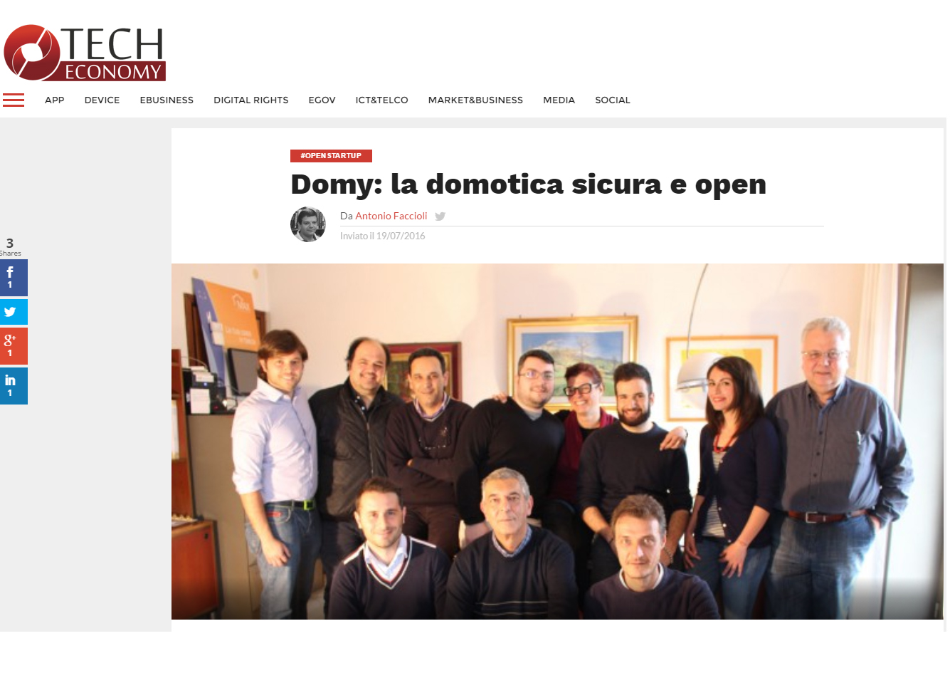 Domy: safe and open home automation